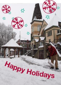 Happy Holidays Fernwood