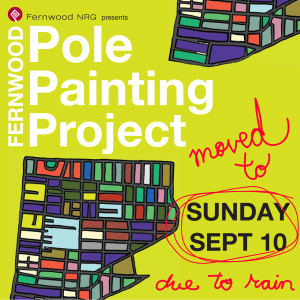Pole Painting Sunday Sept 10 2017