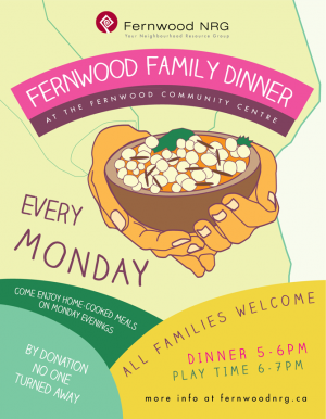 Fernwood Family Dinner @ Fernwood Community Centre | Victoria | British Columbia | Canada