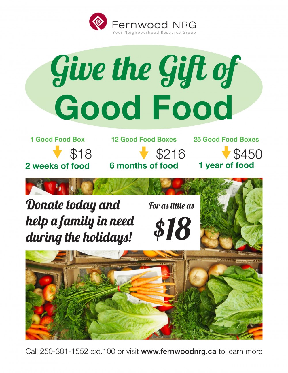 GoodFoodBox_HolidayDrive_Poster