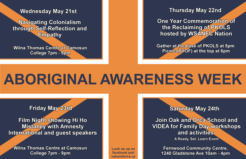 Aboriginal Awareness Week - May 21-24, 2014