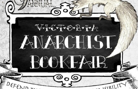 Victoria Anarchist Bookfair – Sept 6 & 7, 2014