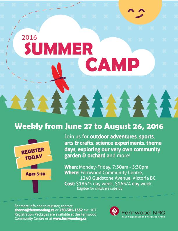 Fernwood Summer Camp 2016