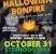 Halloween Bonfire 2015