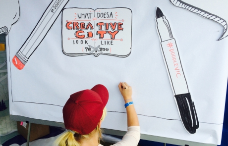 What does a creative city look like?