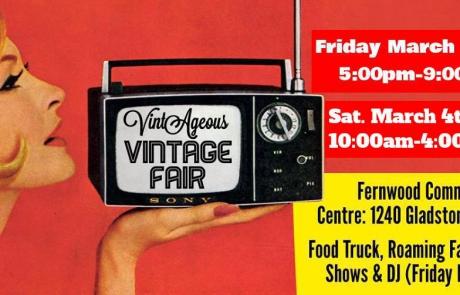 VintAgeous Vintage Fair Fernwood NRG Victoria 2017