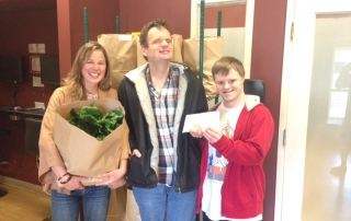Garth Homer Society donates to Gift of Good Food
