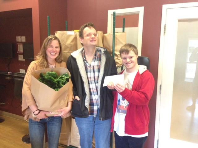 Garth Homer Society donates to Gift of Good Food