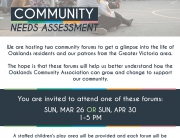 Oaklands Community Needs Assessment