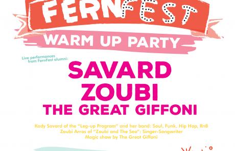 FernFest Warm Up Party Vinyl Envy