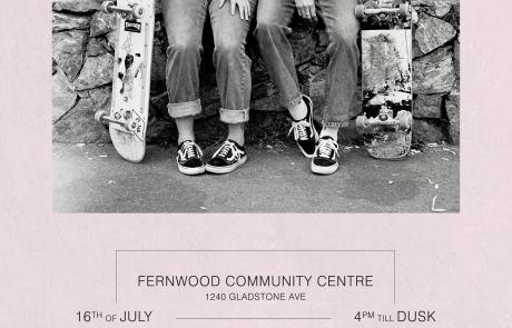 Ladies Skate Night Fernwood July 16 2017