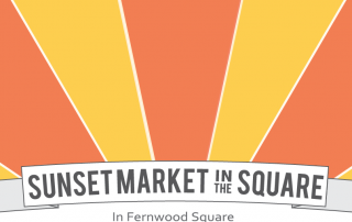 Sunset Market in the Square