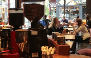 Cornerstone Cafe. Photo by Alexandra Stephanson