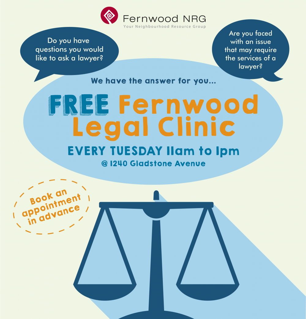 FreeFernwoodLegalClinic_Poster_2018