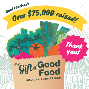 Gift of Good Food Goal Reached