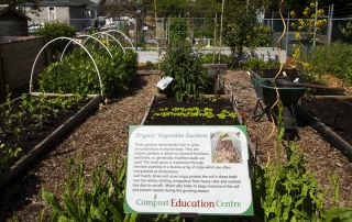 CEC Demonstration Veggie Gardens
