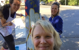 Fernwood Pole Painting Project