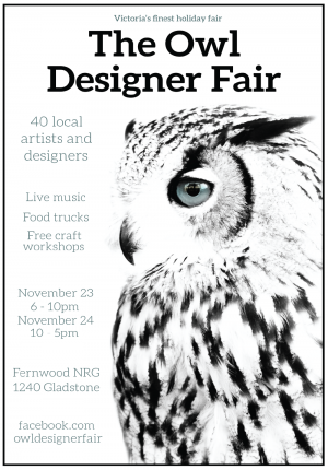 Owl Designer Fair 2018