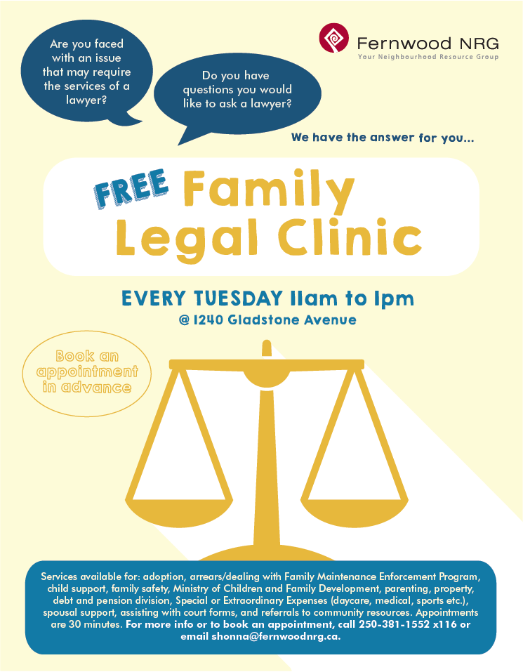Family Legal Clinic 2019