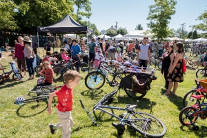 Kidical Mass Bike Parade