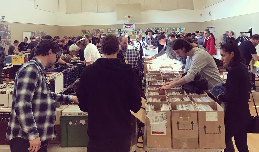 South Vancouver Island Record Show March 9 2019