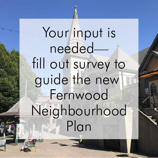 Fernwood Neighbourhood Plan Survey