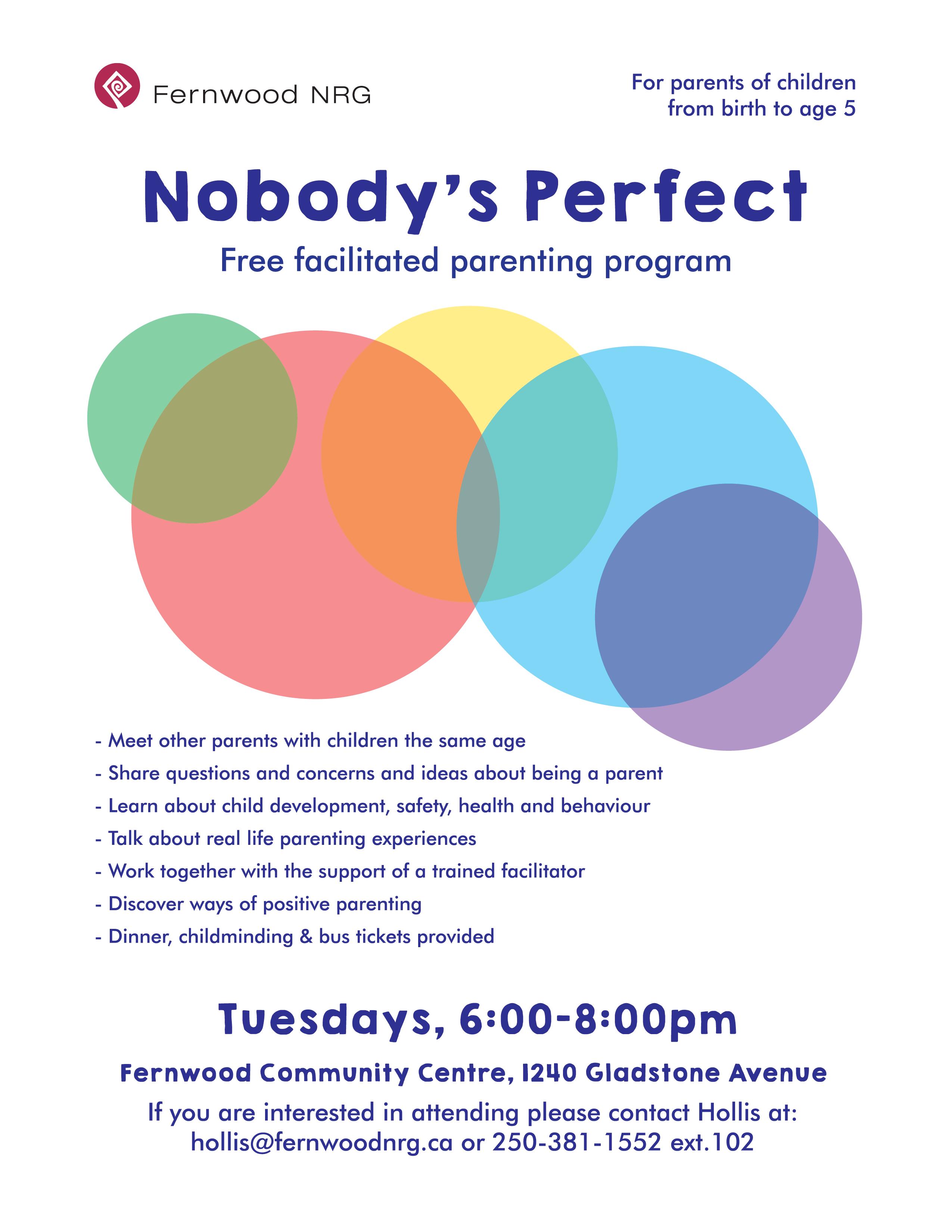 Nobodys Perfect 2019
