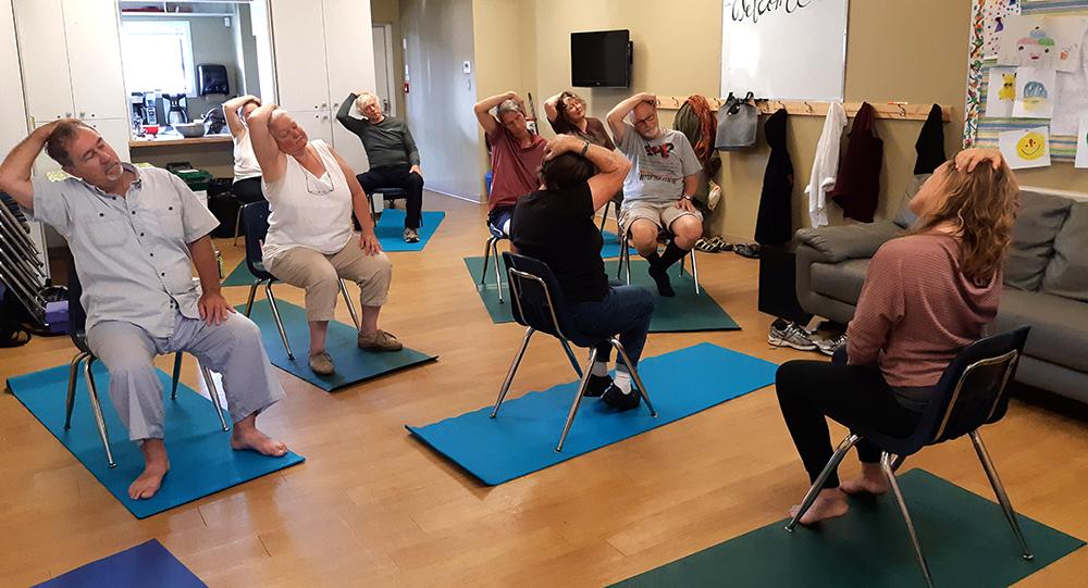 Seniors High Tea and Yoga