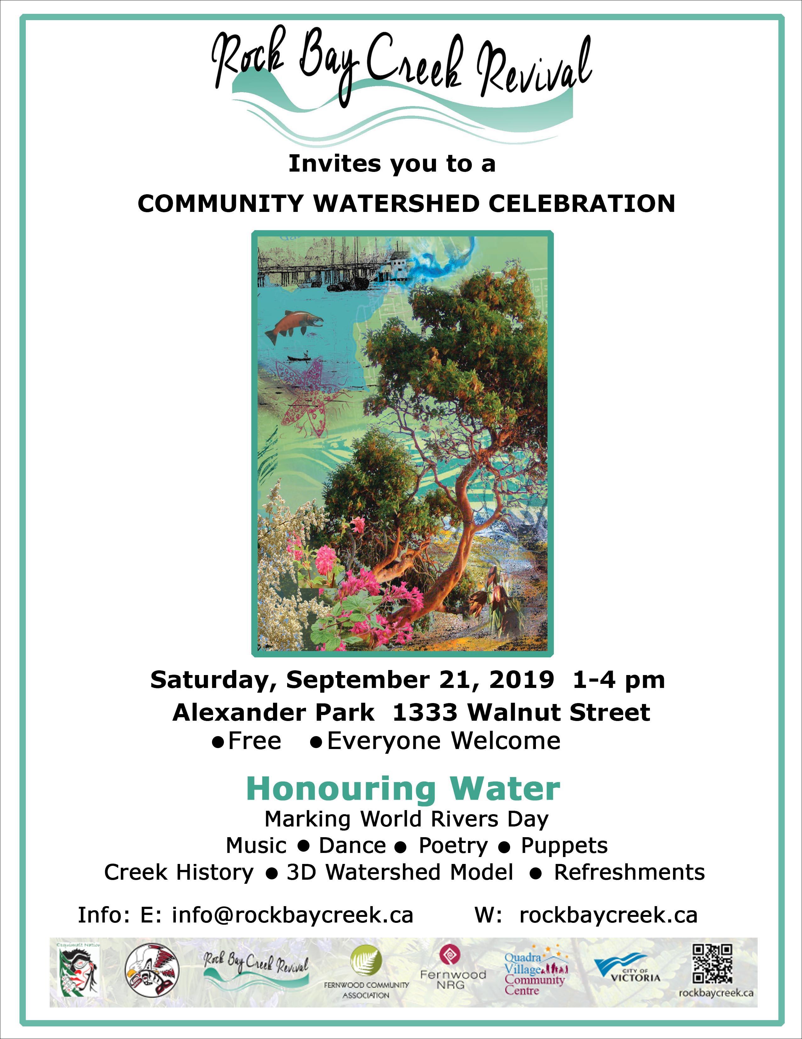 Watershed Celebration Poster