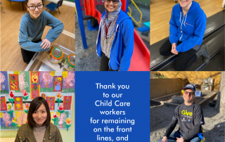 Thank you child care heros