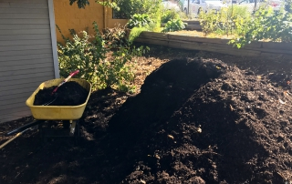 Leaf Mulch and Compost Distribution