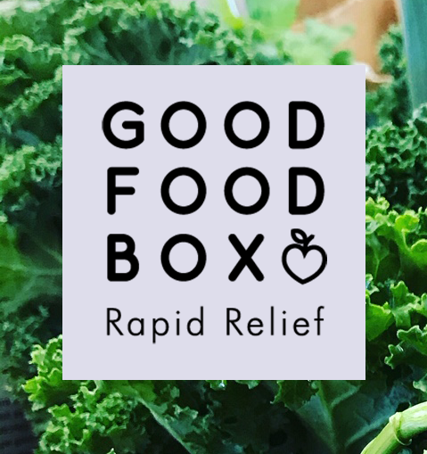 Good Food Box Rapid Relief Button