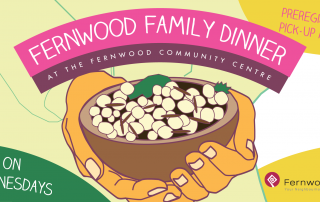 Fernwood Family Dinner Banner 2020