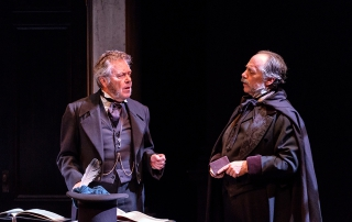 A Christmas Carol at the Belfry Theatre. Photo: Don Craig