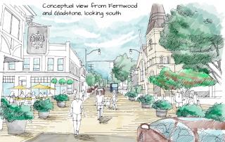 Fernwood Square Public Space concept