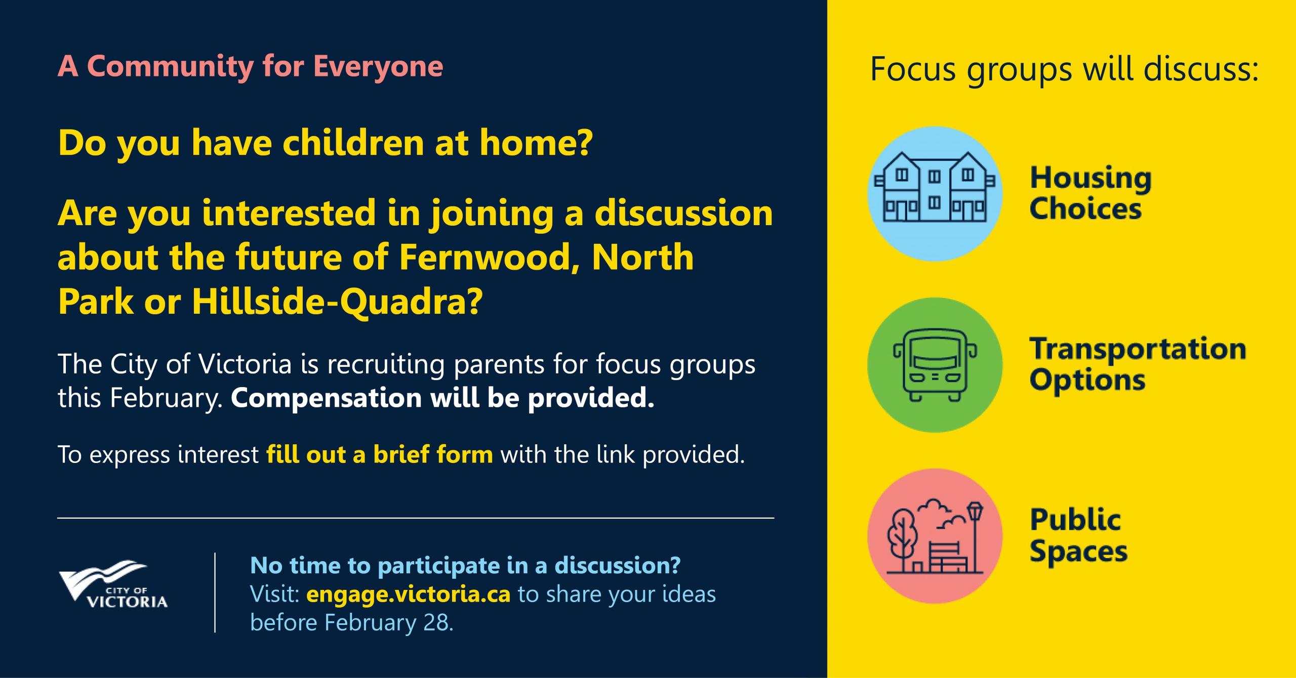 Parent Focus Group Recruitment