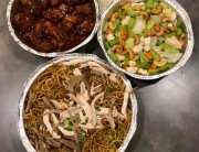 Sun Wah's combo plate for two