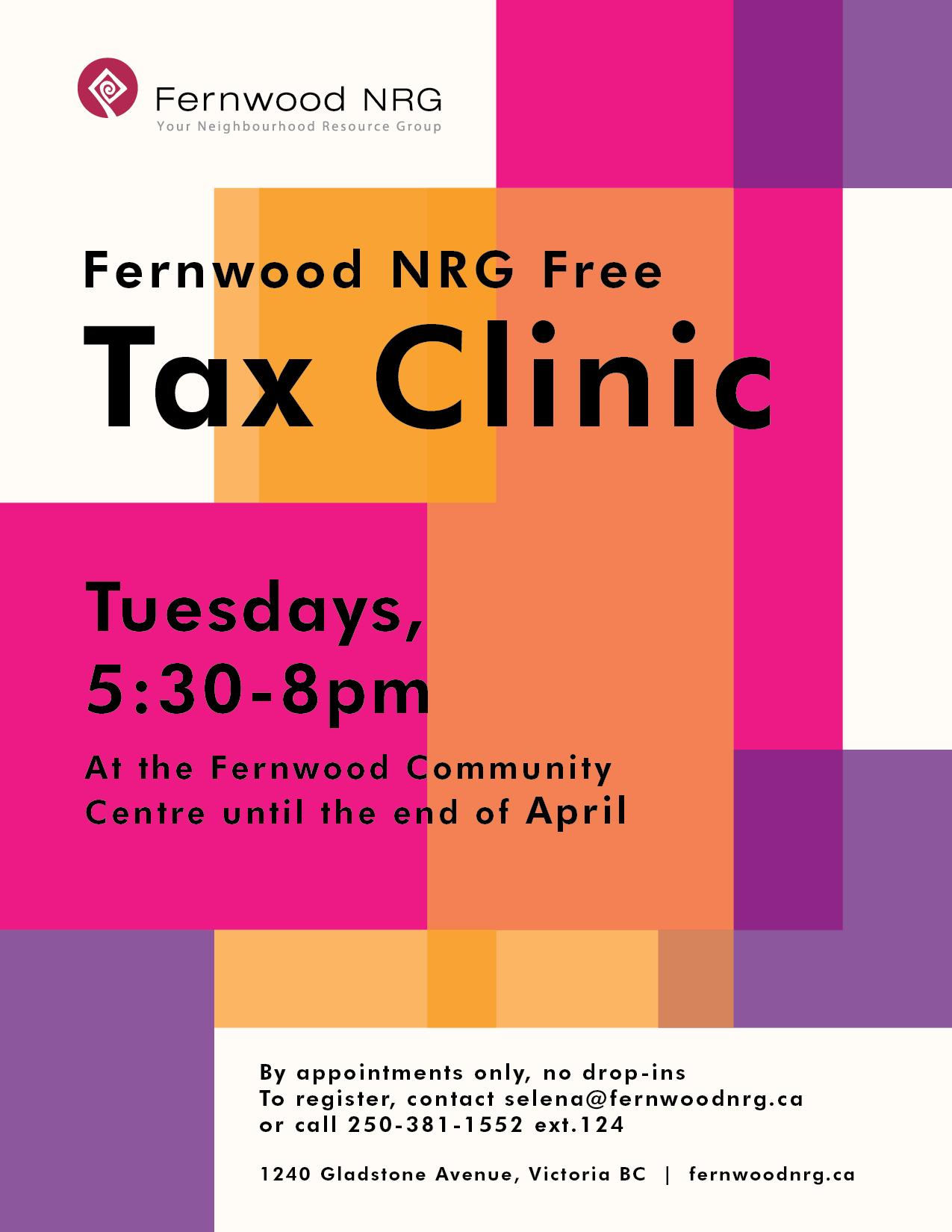 Fernwood NRG Free Tax Clinic 2021