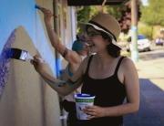 Emily Thiessen - Fernwood Mural Festival - Fernwood NRG