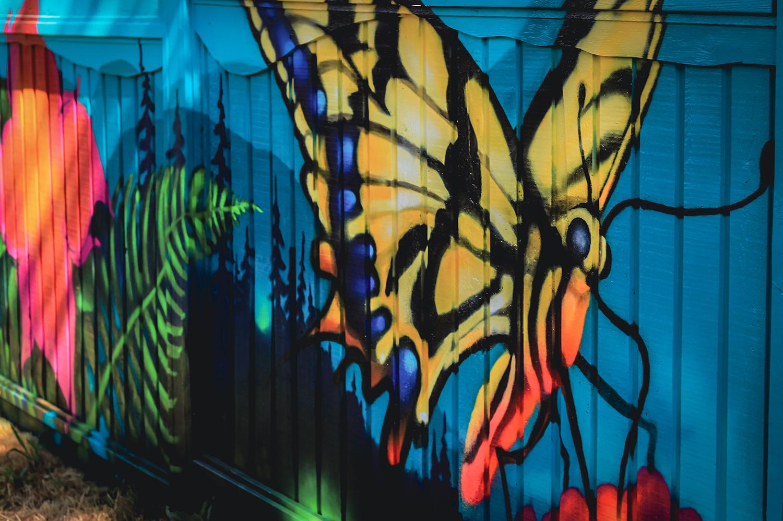 Ian George - Fernwood Mural Festival - Fernwood NRG