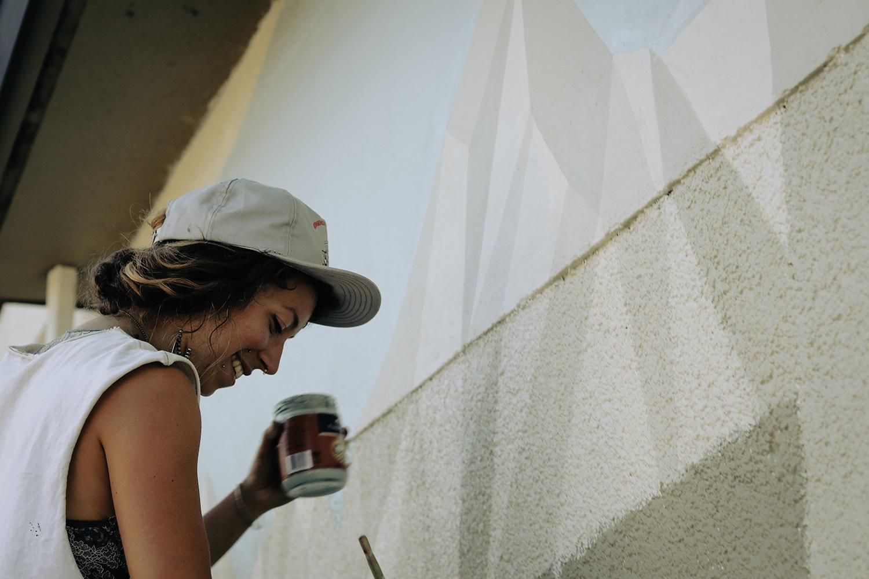 Lydia Beauregard - Fernwood Mural Festival - Fernwood NRG