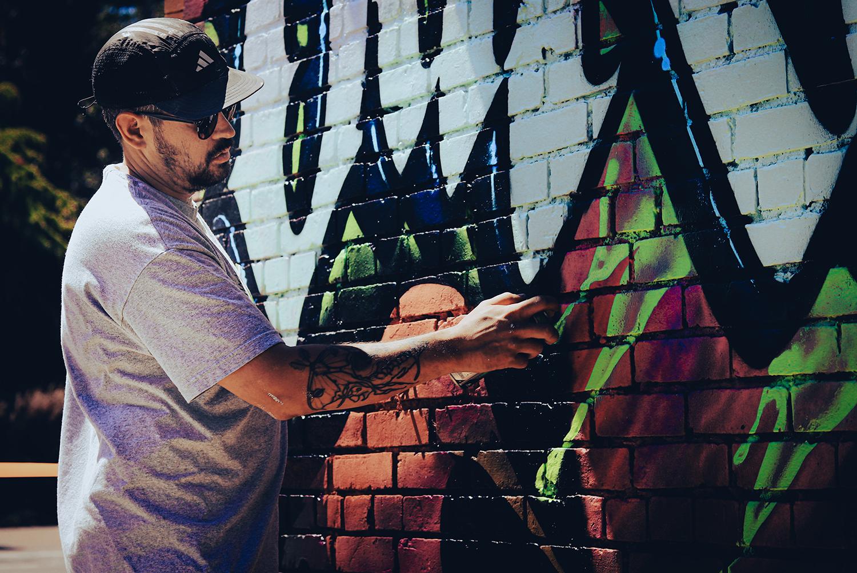 Shane Appleton - Fernwood Mural Fest - Fernwood NRG