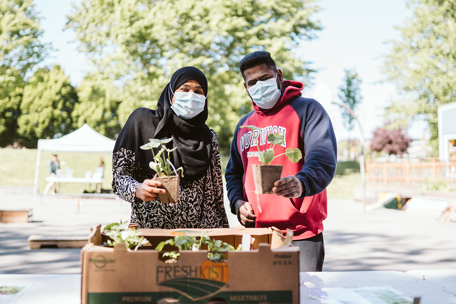 Get Growing Victoria Fernwood Distribution Day - Photo by Aly Sibley Photography